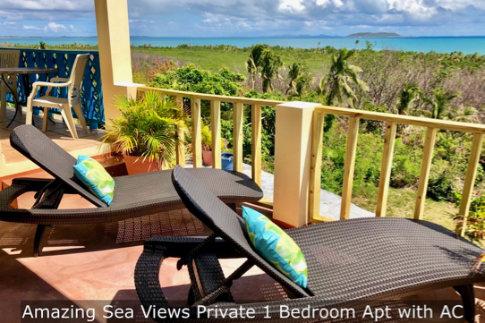 Amazing Sea Views Private Apt with AC