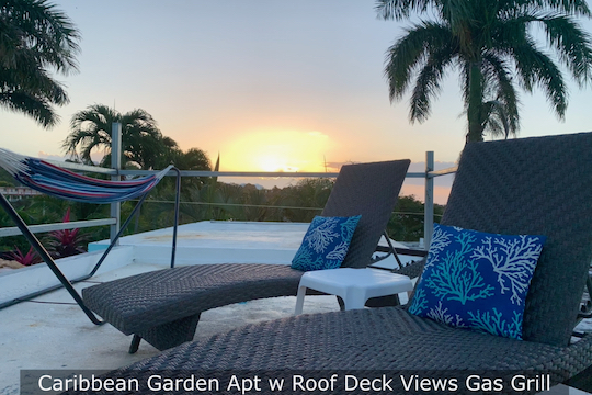 Caribbean Secluded Garden Apt w AC, Terrace, Grill